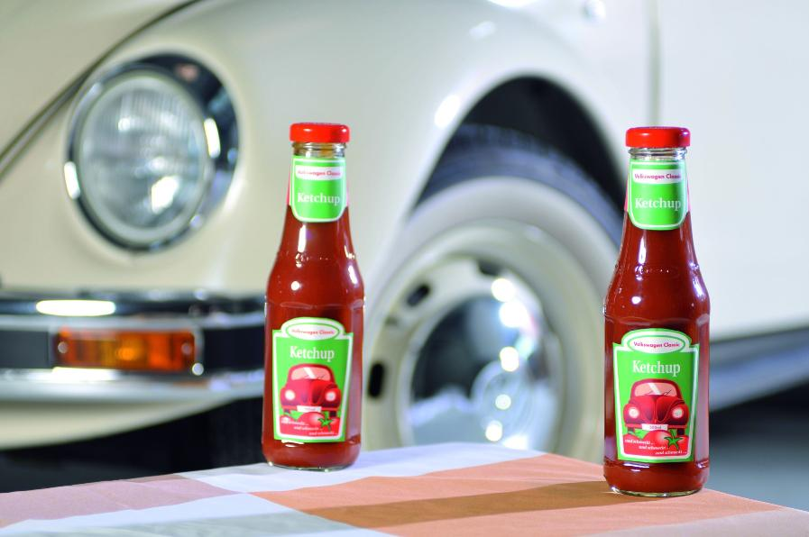 limited edition volkswagen classic ketchup