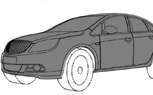 Buick Excelle/Verano Revealed in Patent Drawings