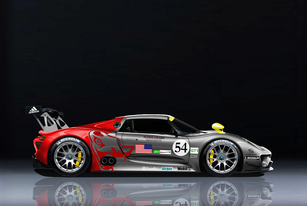 13 Year Old Kid Renders Porsche 918rsr Gt1 Perfectly