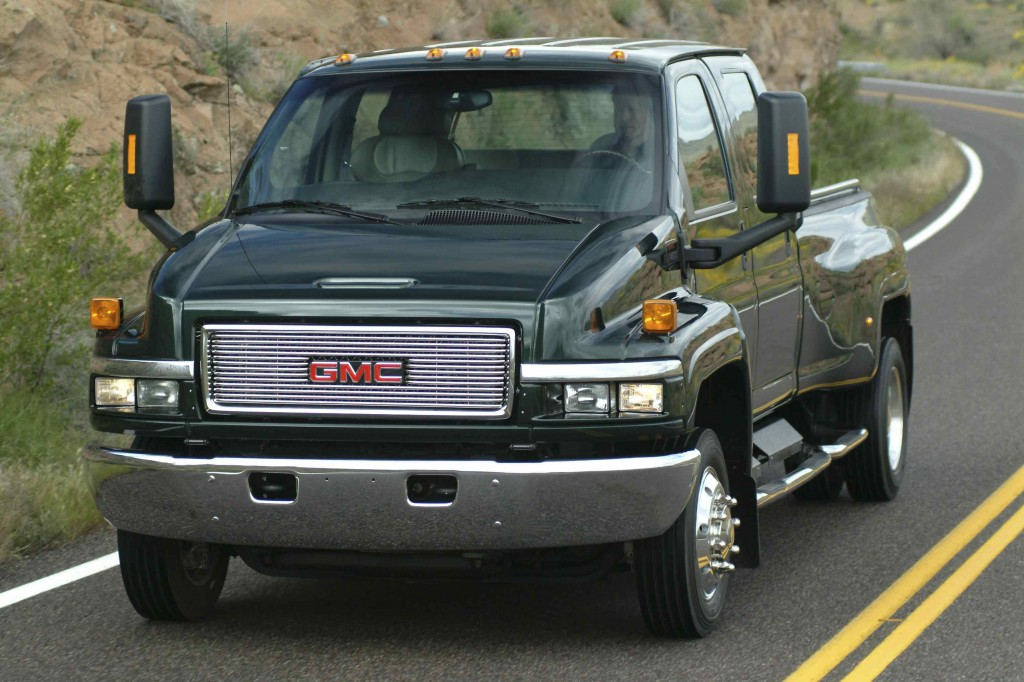 Gmc heavy duty truck