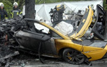 Fatal Lamborghini Gallardo Crash in Germany