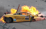Tragic Super Trofeo Lamborghini Gallardo Crash, Bartocc In ICU