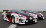 Gazoo Racing Lexus LFAs Dominate Respective Class at 24 Hours of Nurburgring Qualifying