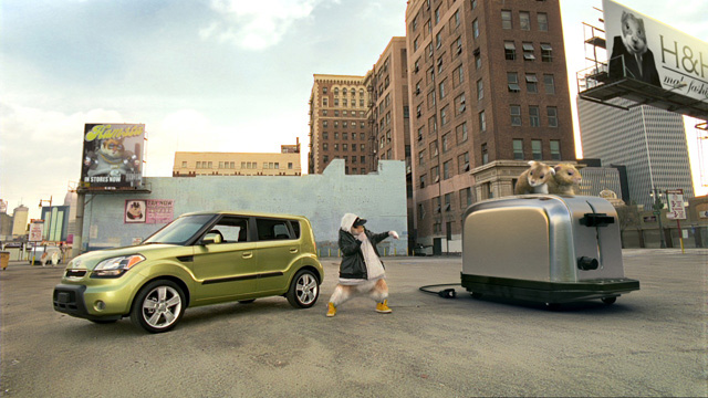 Kia Soul Hamster. Hamsters, the Kia Soul,