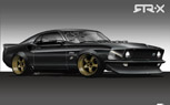 Vaughn Gittin Jr. Building '69 Ford Mustang RTR-X for SEMA