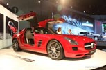 Mercedes-Benz Preparing Baby SLS With Hybrid V6 Powertrain