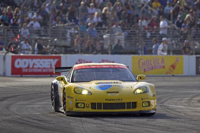 Corvette Racing 2010 Long Beach ALMS