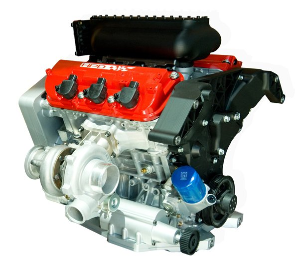 Honda Unveils 2011 LMP2 Race Engine