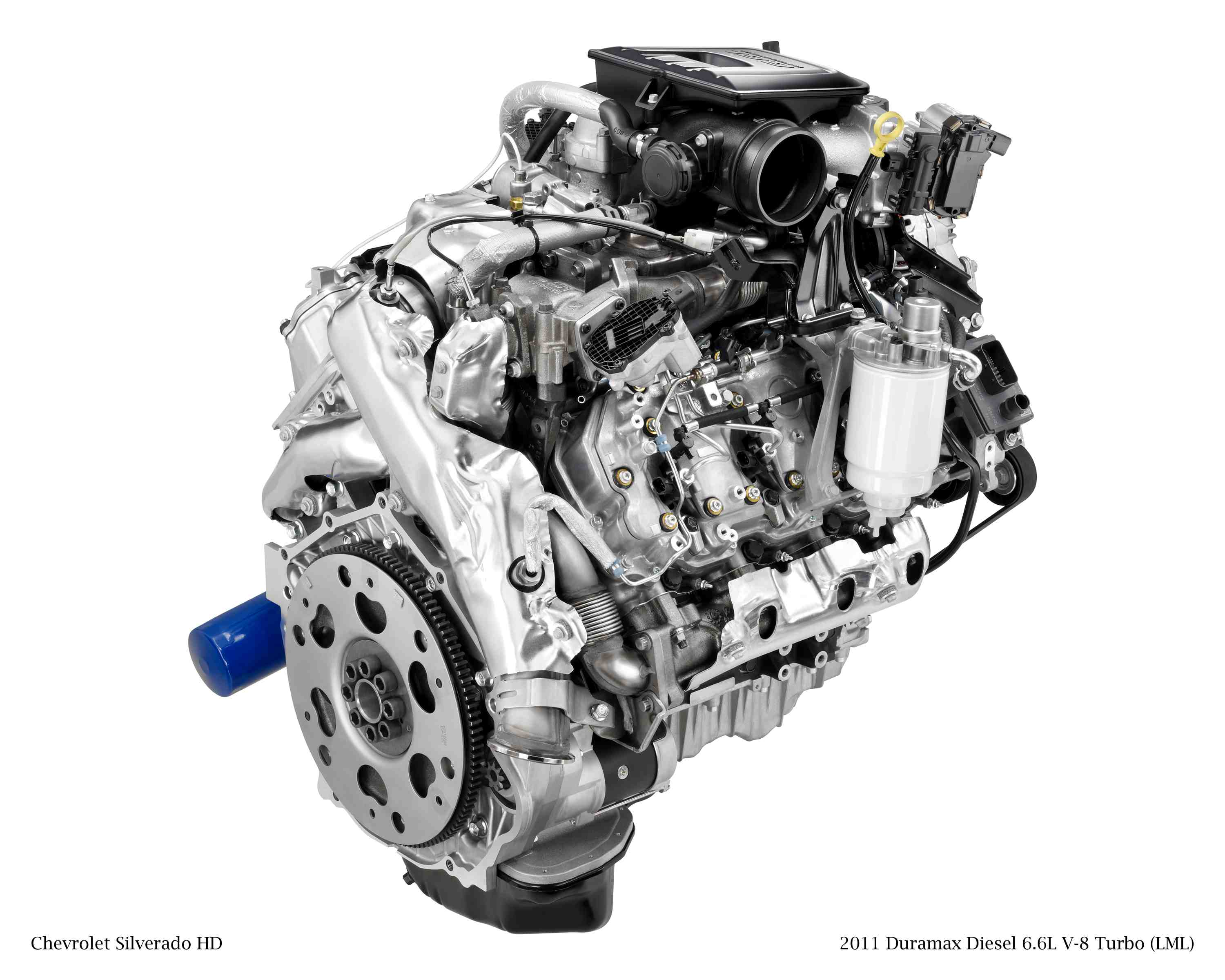 2011 Duramax Diesel 6.6L V-8 Turbo (LML) for Chevrolet Silverado HD