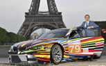 BMW M3 GT2 Art Car Unveiled by Designer Jeff Koons in Paris, Ready to Race at Le Mans