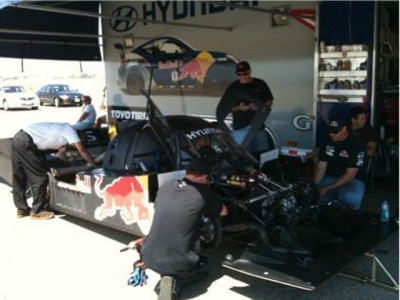 Pikes Peak Auto Racing Photos on The First Shots Of Hyundai S Secretive Pikes Peak Race Car The Rhys