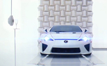 "Lexus LFA Exhaust Note Shatters Champagne Glass in new ""Perfect Pitch"" Video"