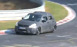 2011 Suzuki Swift Spied Testing on the Nurburgring [video]