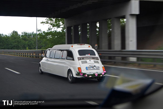 Fiat 500 Limousine Spotted In Germany 187 Autoguide Com News