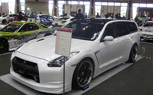 Nissan Stagea M35 Wagon Gets GT-R Front End Conversion