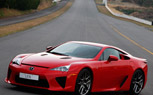 Lexus LFA Supercar Spotted… in Red