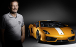 Valentino Balboni Drives His Namesake at California Speedway [video]