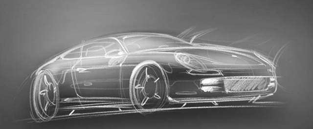Porsche Design Sketch Hints At 928 Successor Panamera Coupe