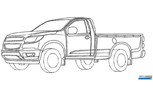 Chevy Colorado Replacement Revealed in GM Patent Filings?
