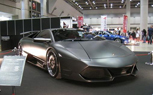 Matte-Black Veilside Lamborghini Murcielago Debuts at Japan's Special Import Car Show