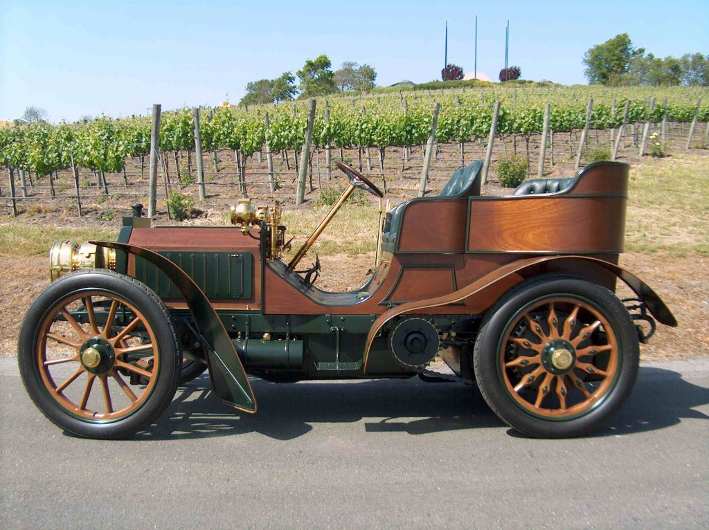 1902 Mercedes To Drive 1 500 Miles To Attend Pebble Beach