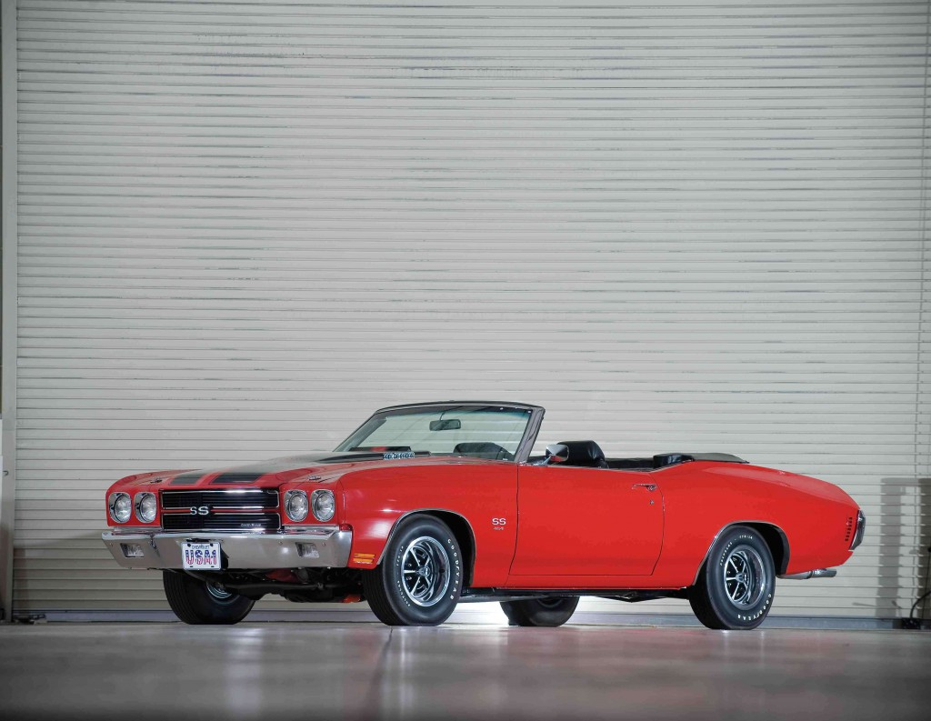 '70 Chevelle SS that went