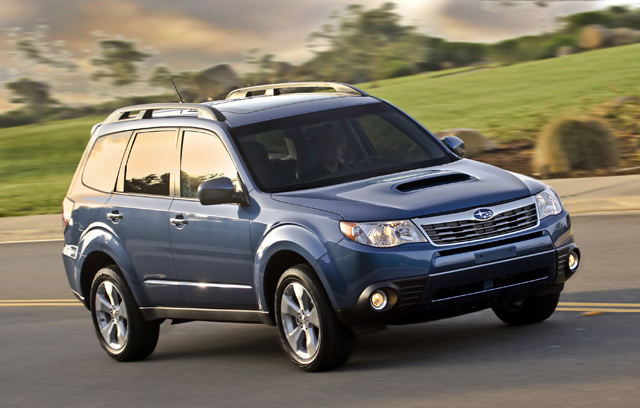 2011 Subaru Forester Gets New Base Engine Improved Fuel Economy