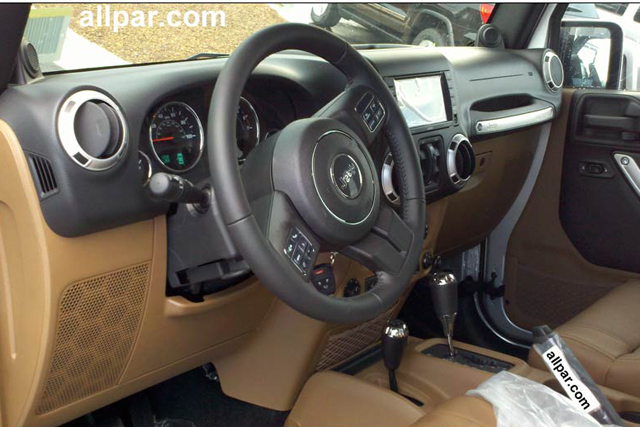 2011 Jeep Wrangler Gets Ritzy Interior To Go With Body Colored Hardtop News