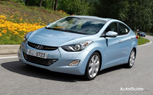 2011 Hyundai Elantra Official Pictures In The Wild