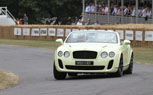 Bentley Supersports Convertible Debuts at Goodwod With Derek Bell Behind the Wheel