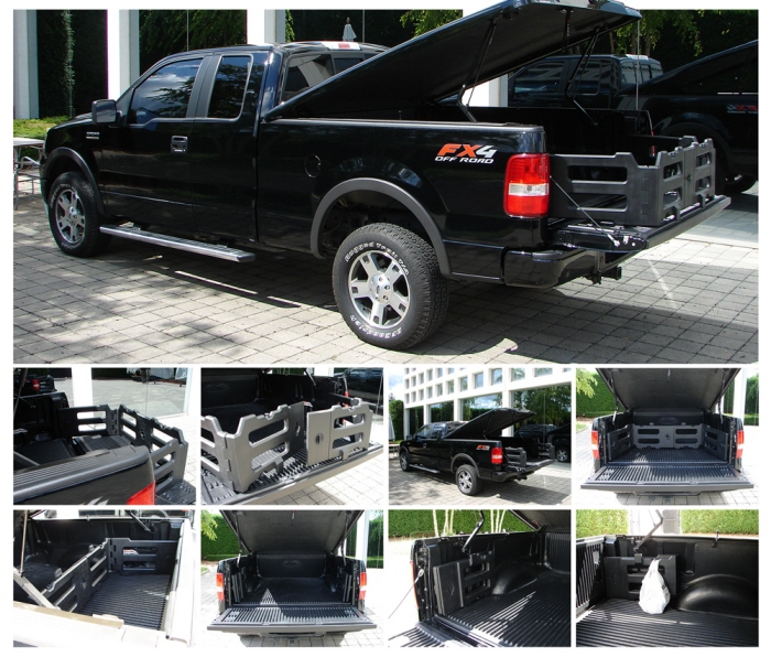 Build Your Own Ford >> Detroit Designer Redefines Truck Bed Extender » AutoGuide.com News