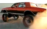 Donk-Mobile Shreds Really Expensive Tires, Still Fails [video]