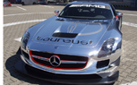 Mercedes SLS AMG GT3 Goes Chrome in Support of Laureus Sport for Good Foundation