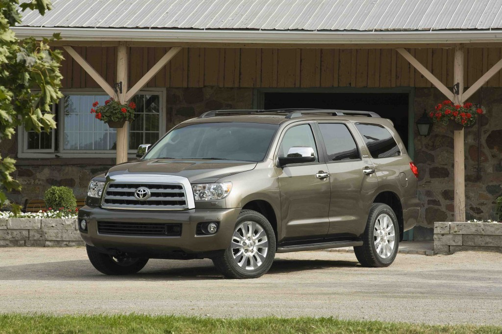 toyota denies sequoia getting axed but hints that it. Black Bedroom Furniture Sets. Home Design Ideas