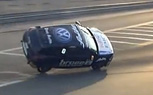 Volkswagen Scirocco R Cup Car Crashes in Spectacular Two-Wheel Style