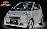 Swarovski Crystals Make This Smart ForTwo Sparkle