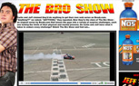Formula Drift Driver Chris Forsberg Takes Part in The Bro Show's Latest Stunt