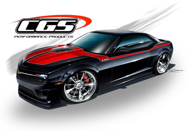 CGS Performance Products Building Wild Chevy Camaro for ...