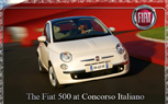 Fiat 500 Set for Concorso Italiano Display; Owners Invited to Show Their Classic Fiats