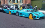 London Parking Authorities Give 'the Boot' to Matching Turquoise Supercars
