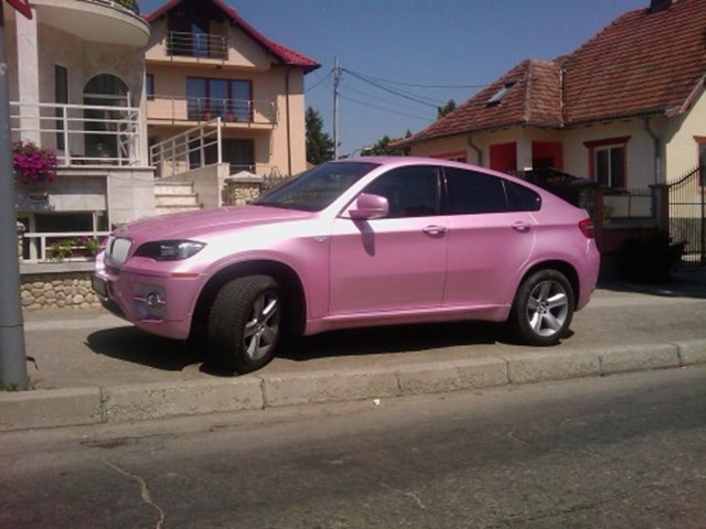 Bmw X6 Is Not So Pretty In Pink 187 Autoguide Com News