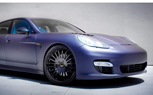 Platinum Motorsport Builds Matte Blue Porsche Panamera