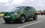 Camo Wrapped Range Rover Evoque Prototypes Dispatched to Key Cities in PR Offensive