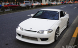 Japanese Nissan Silvia S15 Receives Left Hand Drive Conversion