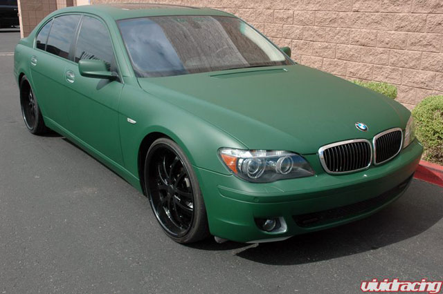 Vivid Racing Goes Matte Green On Bmw 7 Series News