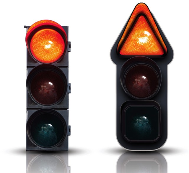 New Twist On Traffic Lights Can Help Color Blind Drivers
