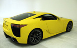 Yellow Lexus LFA: First Pictures of Japanese Supercar's Latest Color