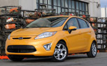 Ford Fiesta Earns IIHS Top Safety Pick Award