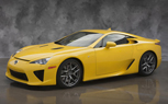 Yellow Lexus LFA Heads to the Photo Studio [Gallery]