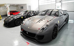 Matte-Black and Matte-Gray Ferrari 599XX are Evil Incarnate